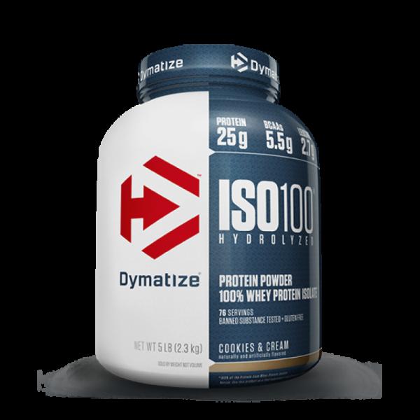 Dymatize ISO 100 подпомага мускулния растеж и възстановяването