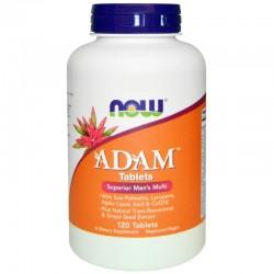 NOW Foods Adam Men's Multi - 120 таблетки