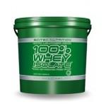 SCITEC NUTRITION 100% Whey Isolate за покачване на чиста мускулна маса